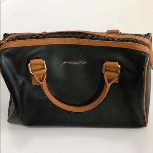 Cynthia Rowley black leather bag.